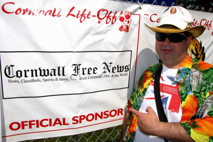 CFN Proud to Sponsor 20th Anniversary 2014 Cornwall Kinsmen Lift-Off !