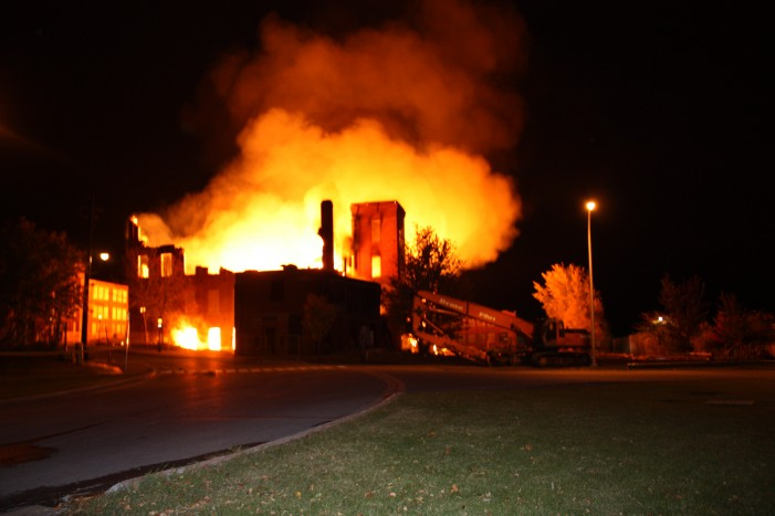 What the blazes?  Glen Stor Dun Lodge residents and staff members deserve better.  By Mary Anne Pankhurst