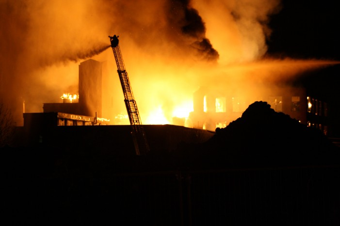Four Arrested over Cotton Mill Fire in Cornwall Ontario – November 25, 2010