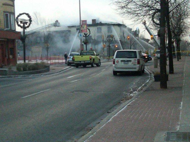 Truffles Burger Bar Struck By Fire – BREAKING NEWS – Cornwall Ontario – December 5, 2010 UPDATED 6 PM