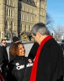Cornwall Ontario City Councilor Bernadette Clement Takes Official Leave for her Run for MP in SD&SG Ontario – March 28, 2011