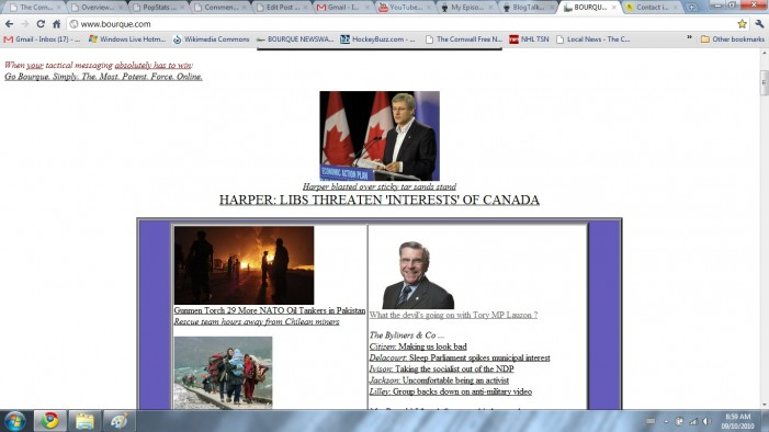 Harper MP Guy Lauzon Votes against Pension Security for Riding's Seniors by Richard Komorowski – April 21, 2011 – Cornwall Ontario