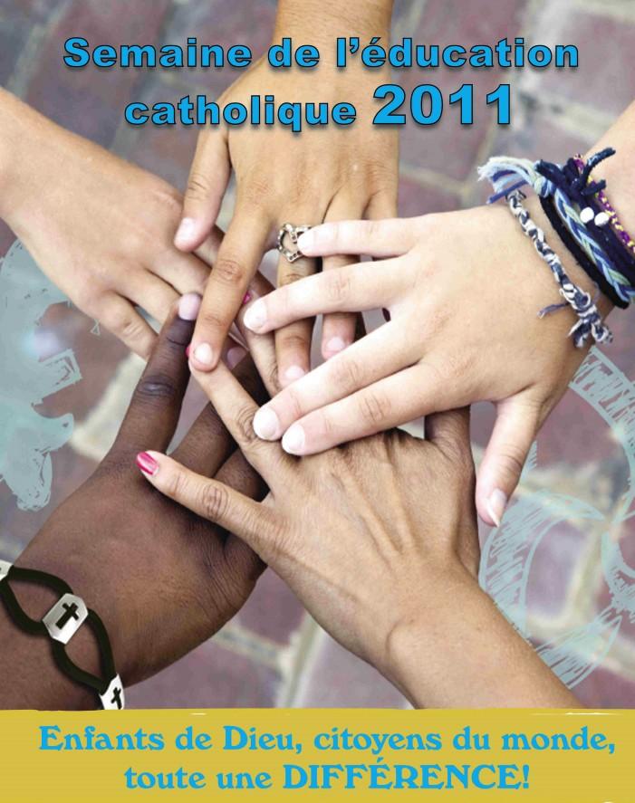 Semaine de l'éducation catholique 2011 : 1er au 7 mai – Nouvelles en français avec David Grégoire