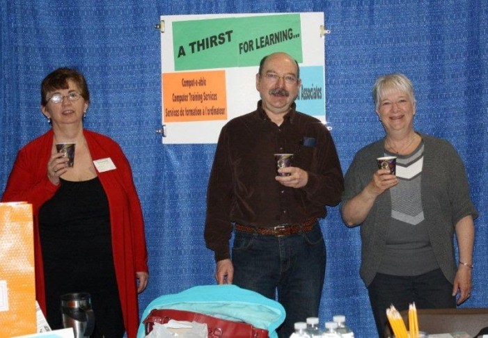 The SEA Self Employment Assistance Plan – 6 SEA Vendors at South Stormont Chamber of Commerce Home & Trade Show – May 3, 2011 by Reg Coffey
