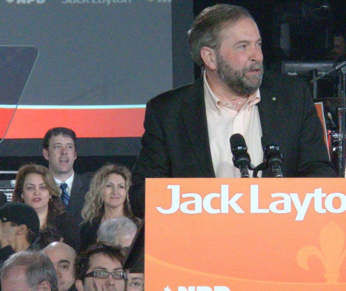 NDP in Turmel – 2 Points for Mr. Harper – Layton Legacy, and will Thomas Mulcair be able to Truly Save the NDP?   August 3, 2011