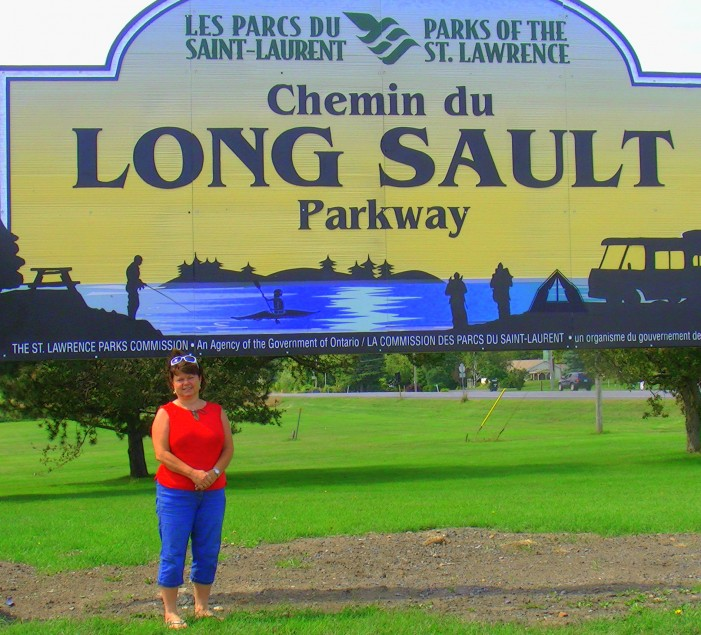 Maverick South Stormont Deputy Mayor Tammy Hart Upset at French First St. Lawrence Park Sign in Long Sault Ontario – August 25, 2011