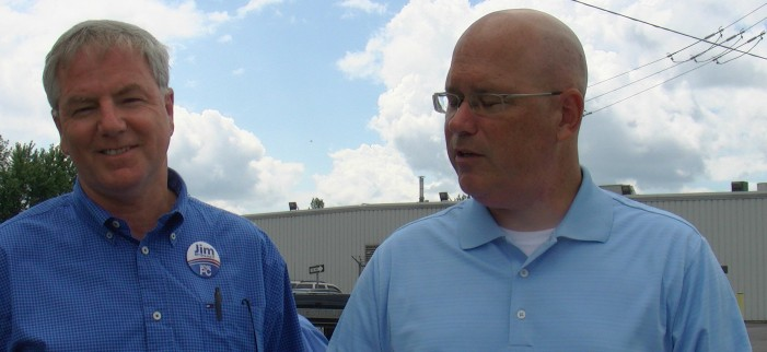 Leeds-Grenville MPP Steve Clark & Jim McDonell on Hydro Rates and the Samsung deal.   August 10, 2011 – Morrisburg Ontario