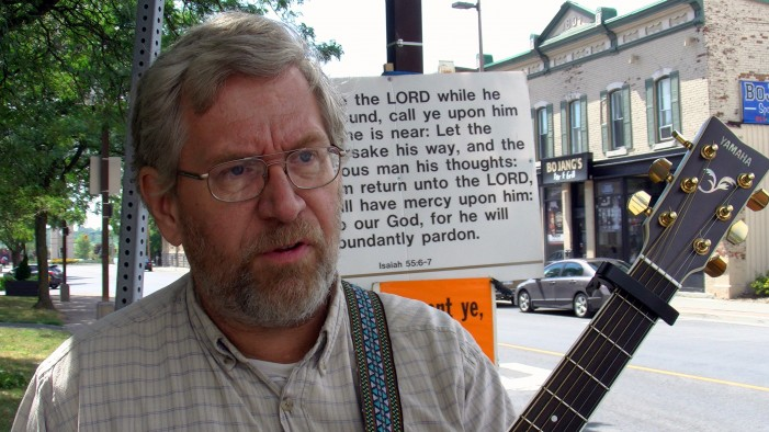 The Cornwall Free News Caught up with Pastor Tom Newton at Buskerville 2 – August 1, 2011 – Cornwall Ontario