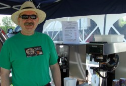 Reg at the Long Sault Market