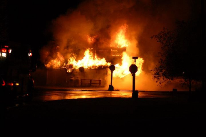 Fire Destroys General Store in Lunenberg Ontario – No injuries reported – October 3, 2011