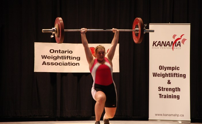 Cornwall Junior Weightlifter Qualifies for Nationals! Congrats to Kelly McGillis –  December 5, 2011
