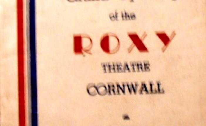 Happy 70th Birthday to the Roxy (Port) Theatre in Cornwall Ontario – December 26th, 2011