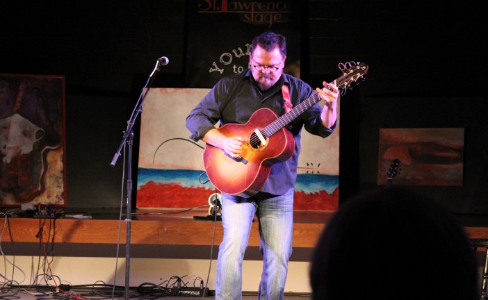 Don Ross & Graham Greer at the St. Lawrence Acoustic Stage by Reg Coffey, January 23, 2012