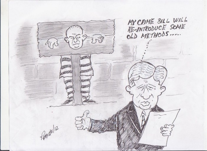 Political Times by Mike Roache – Bill C 10 Crime Bill  – March 8, 2012