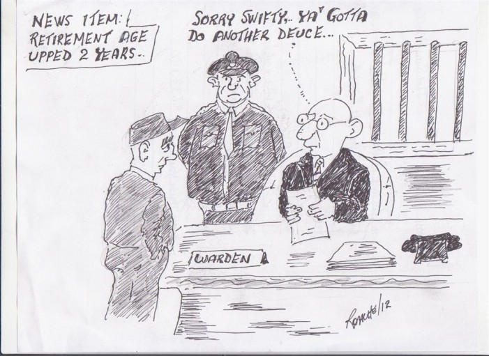 Political Times by Mike Roache – Canada Raises Retirement Age to 67 – March 30, 2012