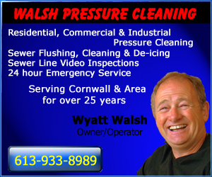 Did You Video Your Sewer Line Before Purchasing Your Building? Walsh Pressure Cleaning in Cornwall Ontario $149+HST SPECIAL!