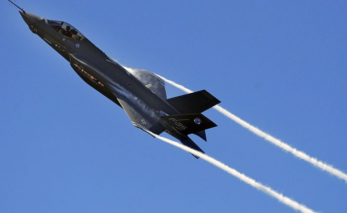 Keith Beardsley's View From the Hill – AG Report on F-35 Whose head should roll?