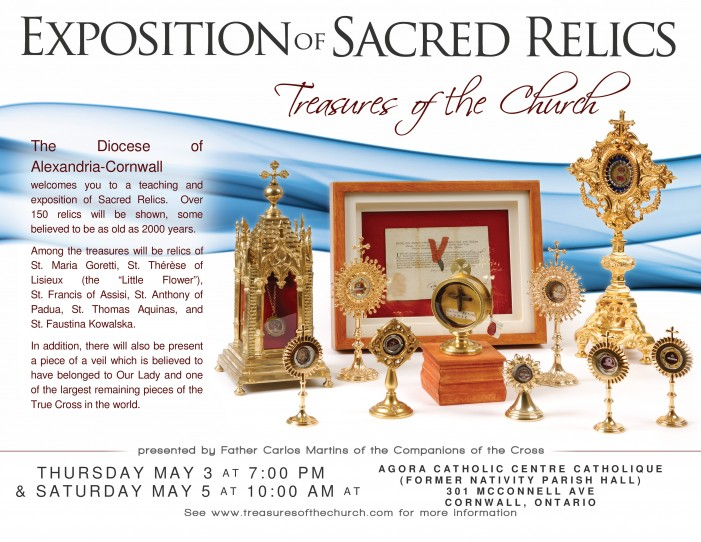 ENCOUNTERING THE DIVINE THROUGH A RARE EXHIBITION OF SACRED RELICS by Don Smith