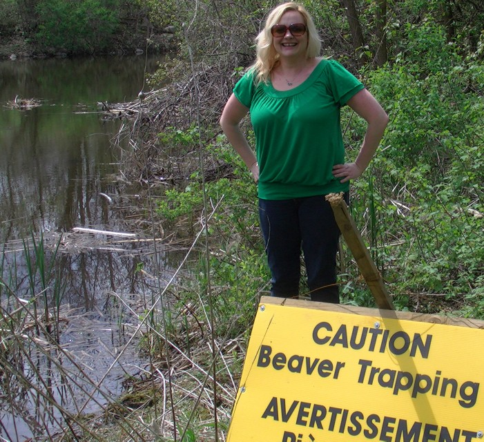Beavergate : Lodge is now EMPTY of Beavers in Guindon Park in Cornwall Ontario – Lesley Fox Writes Letter to Council