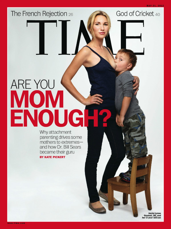 Is Breast Feeding the New Ad Buzz?  First Oreo Cookies and now Time Magazine by Jamie Gilcig