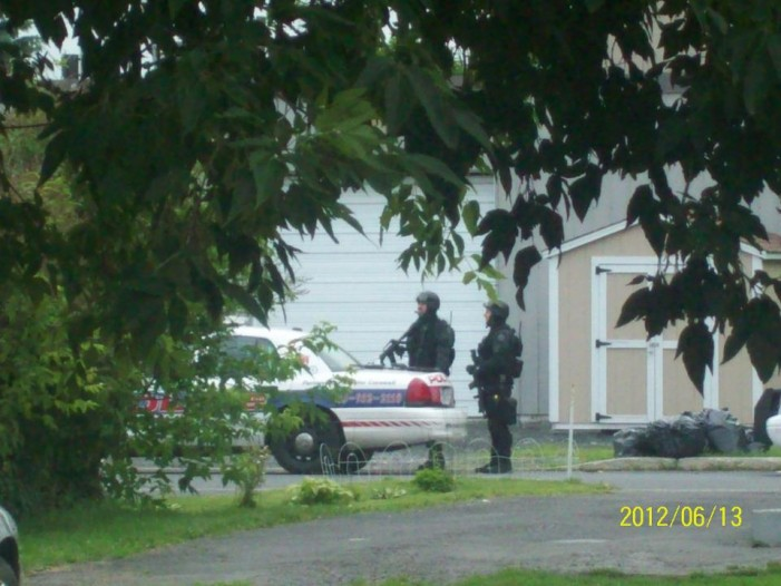 Cornwall Ontario Barricade Perp Charged After Long Stand Off – June 14, 2012