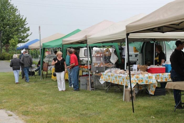 Long Sault Market Week 3 by Reg Coffey – June 16, 2012