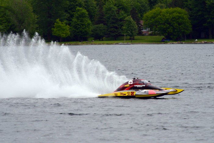 Your Cornwall Free News Photo of the Day from Calvin Hanson Shooting the Long Sault Speed Boat Races!