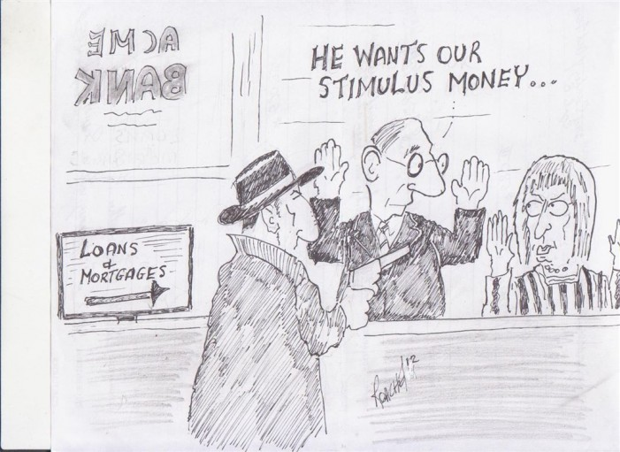 Political Times by Mike Roache – Stimulus – June 26, 2012