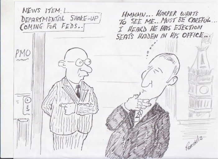 Political Times by Mike Roache – Harper Cabinet Shuffle – June 29, 2012