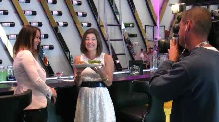 Sarah Freemark and CTV Visit Truffles Burger Bar in Cornwall Ontario – June 27, 2012