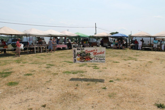 Long Sault Farmers Market Report for 13 July 2012 by Reg Coffey