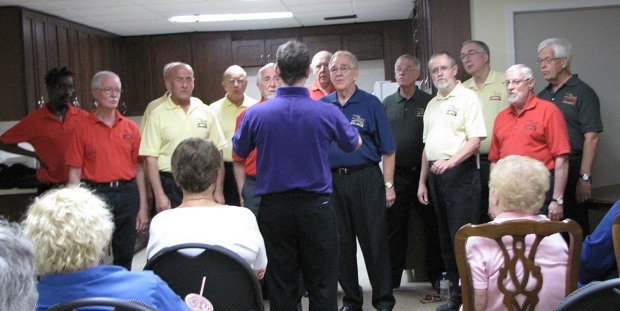 C-Way Sounds, Local Barbershop Chorus by Lorna Foreman – July 17, 2012