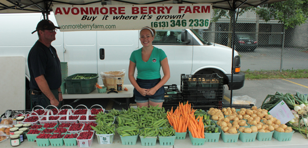 Cornwall Seaway Valley Growers' Market Report for 7 July 2012 by Don Smith