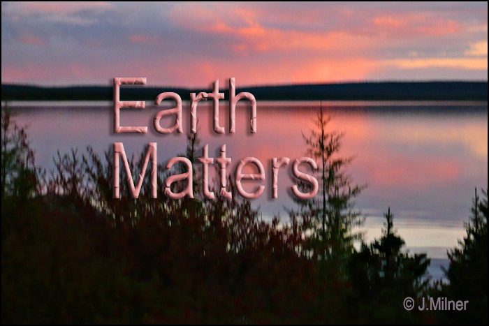 Earth Matters by Jacqueline Milner – Learning to Live With Each Other  – July 29, 2012