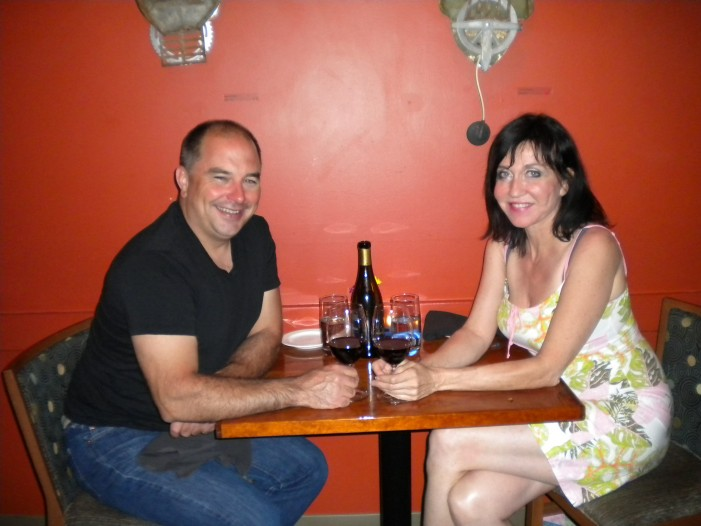 GIRL'S NIGHT OUT  at the Zen Kitchen in Ottawa Ontario with Karin Walkey July 3, 2012