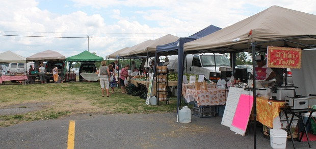 Long Sault Farmer's Market Report for July 27, 2012 by Reg Coffey