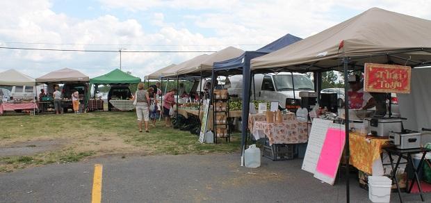Long Sault Farmer's Market Report for July 27, 2012 by Reg Coffey