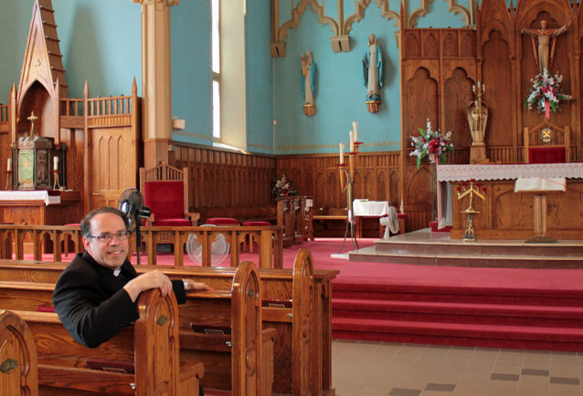 A Chat with Bishop-Elect Marcel Damphousse in Cornwall Ontario by Don Smith