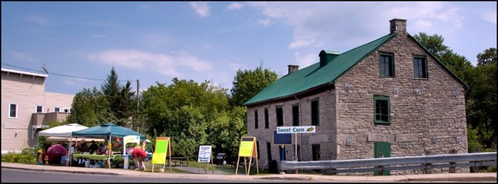 Artists Gather at the Old Grist Mill in Martintown Ontario July 25, 2012