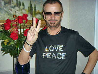 Happy 72nd Birthday to my Second Fave Beatle Ringo Starr!   July 7, 2012