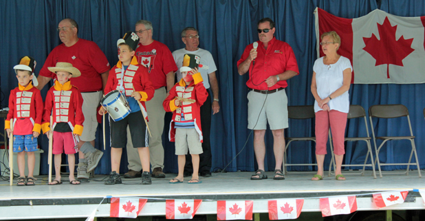 Celebrating Dominion (Canada) Day in Cornwall & Long Sault Ontario by Don Smith