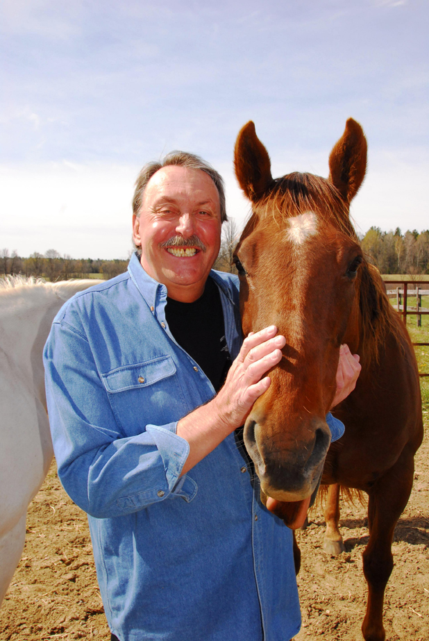 Wayne Rostad at Horse lovers' weekend at Upper Canada Village near Morrisburg Ontario by Don Smith