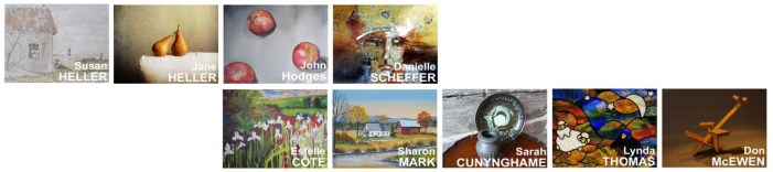 OPEN STUDIOS – ATELIERS PORTES OUVERTES – Art Tour in Hemingford Quebec – September 8th & 9th 2012