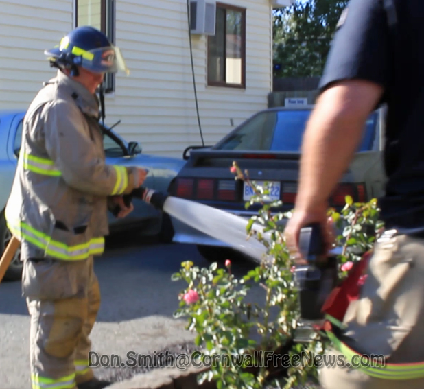 Apparent underground fire is cause for alarm in Cornwall Ontario by Don Smith – August 29, 2012