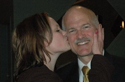 Rebecca Sorrell of Cornwall Ontario on the One Year Anniversary of the Passing of Jack Layton