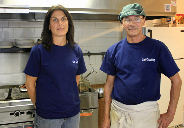 Get Cracking Diner in Cornwall Ontario hits SEA 100th External Employee Milestone by Don Smith