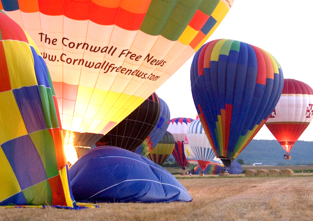 Where did the Balloons Go?  2013 Cornwall Kinsmen Lift Off Launches from Avonmore – Roy Nichol comes home with April Wine!