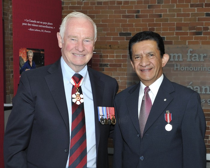 Sultan Jessa Awarded Queen's Diamond Jubilee Medal by Canadian Governor General David Johnston