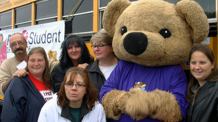 First Student Bus Driver's SURVIVOR Fund Raiser for CHEO at Wal-Mart in Cornwall Ontario Sets RECORD! $14,512.30