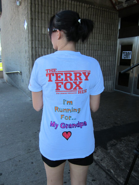 Terry Fox Run in Cornwall Raise Over $1500 More in 2017!  091717